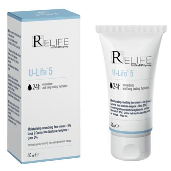U-Life 5 Crema Idratante Pelle Secca 50 ml