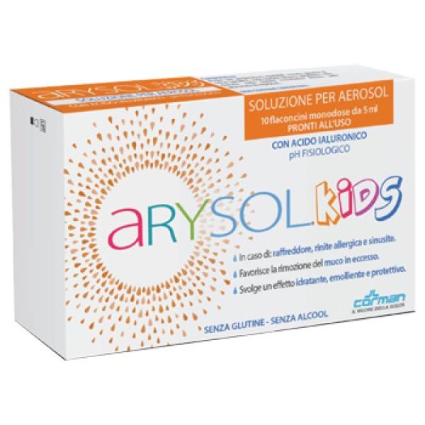 Arysol Kids Soluzione per Aerosol Bambini 10 Flaconcini Monodose