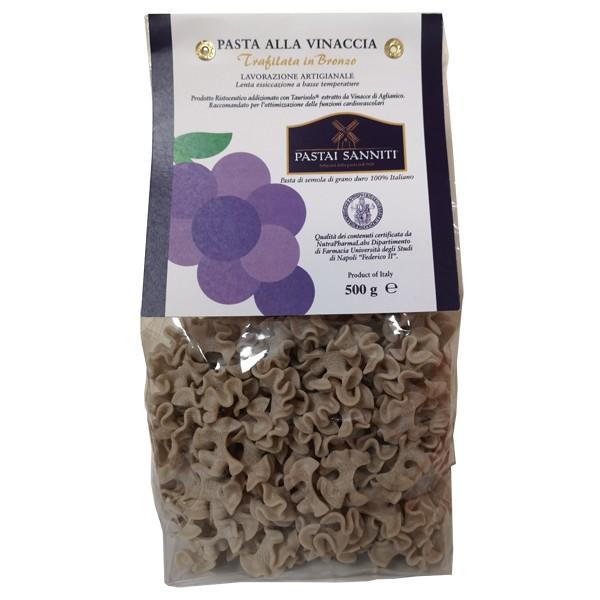 Pasta alla Vinaccia Taurisolo Formato Pantacce 500 grammi