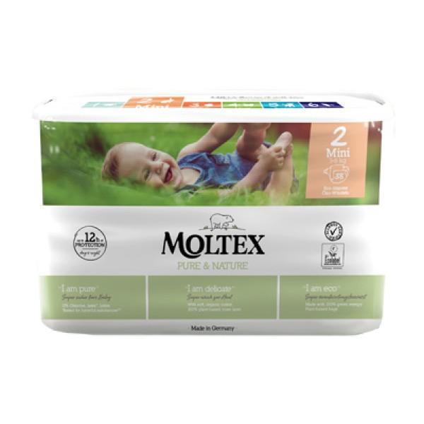 MOLTEX Pann.2 Mini 3-6Kg 38pz