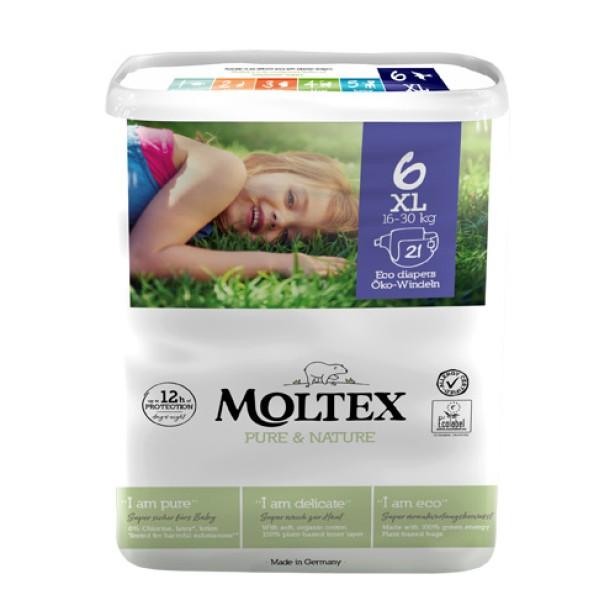 MOLTEX Pann.6 XL 16-30Kg 21pz