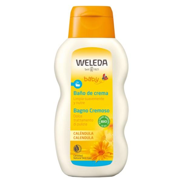 Weleda Baby Calendula Bagno Cremoso Detergente Delicato 200 ml