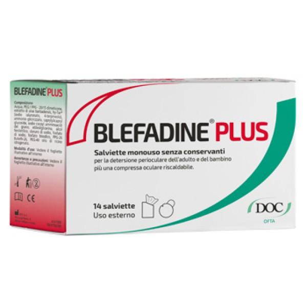 Blefadine Plus 14 Salviette + 1 Compressa