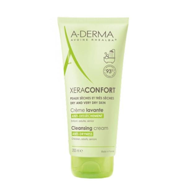 A-Derma XeraConfort Crema Detergente Lavante Pelle Secca e Molto Secca 200 ml