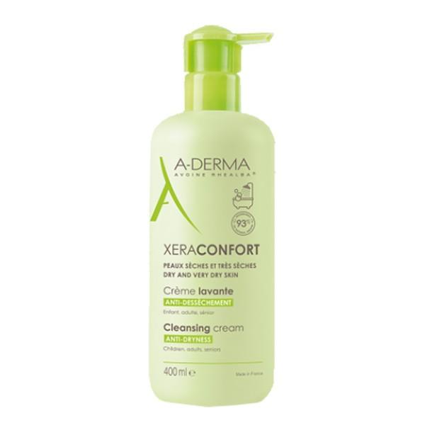 A-Derma XeraConfort Crema Detergente Lavante Pelle Secca e Molto Secca 400 ml