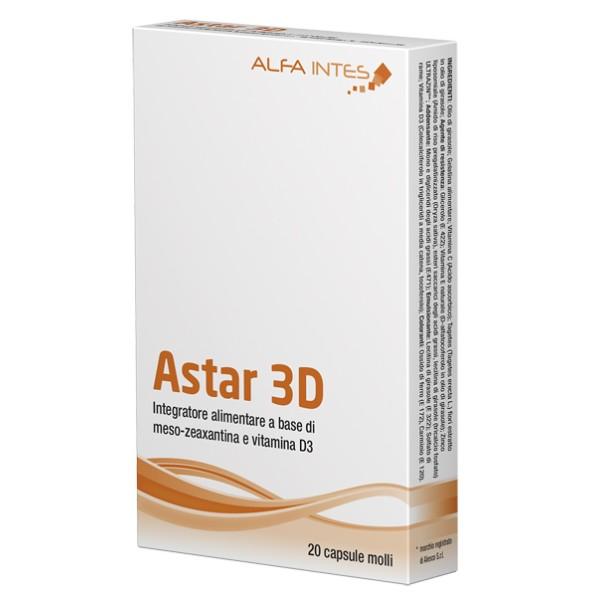 Astar 3D 20 Capsule Molli  - Integratore Alimentare