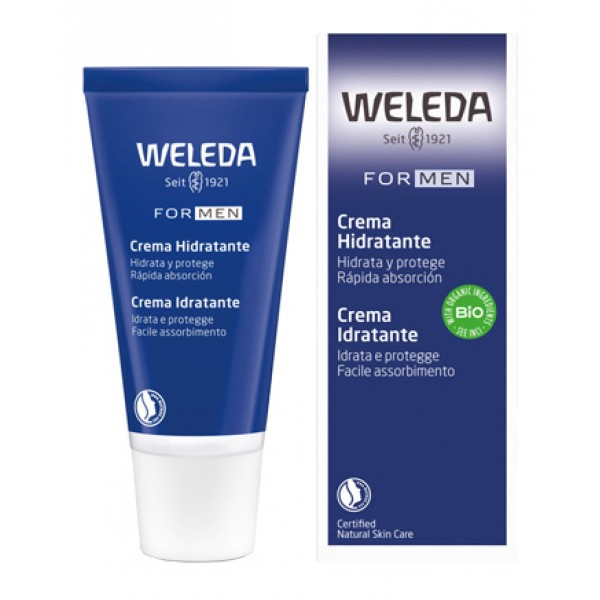 Weleda Crema Idratante Lenitiva Uomo 30 ml