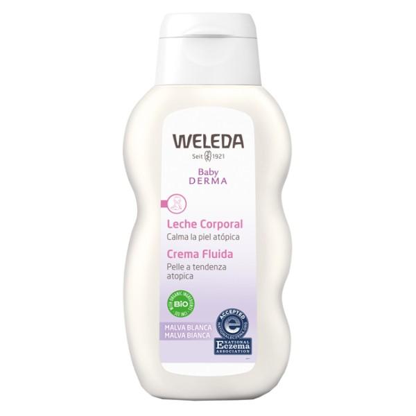 Weleda Baby Derma Crema Fluida Idratante alla Malva Bio 200 ml