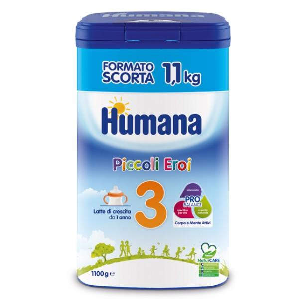 Humana 3 Latte in Polvere 1100 grammi