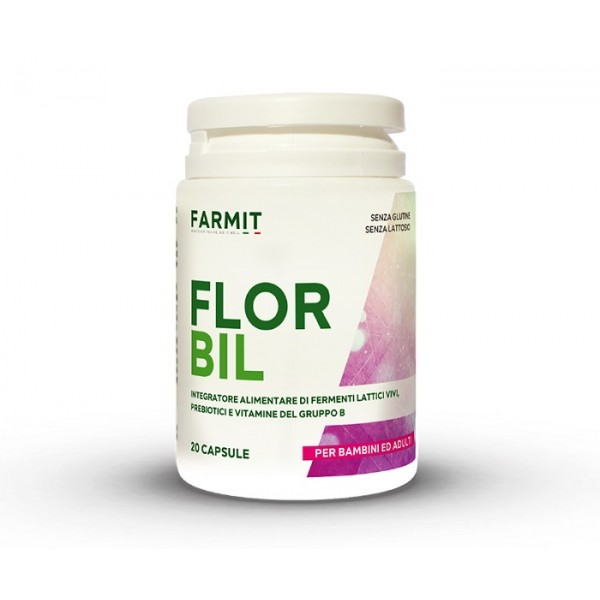 Florbil 20 capsule - Integratore Alimentare Fermenti Lattici Vivi