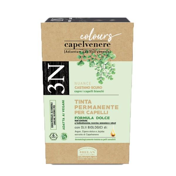 Capelvenere Tinta per Capelli 3N Castano Scuro 125 ml