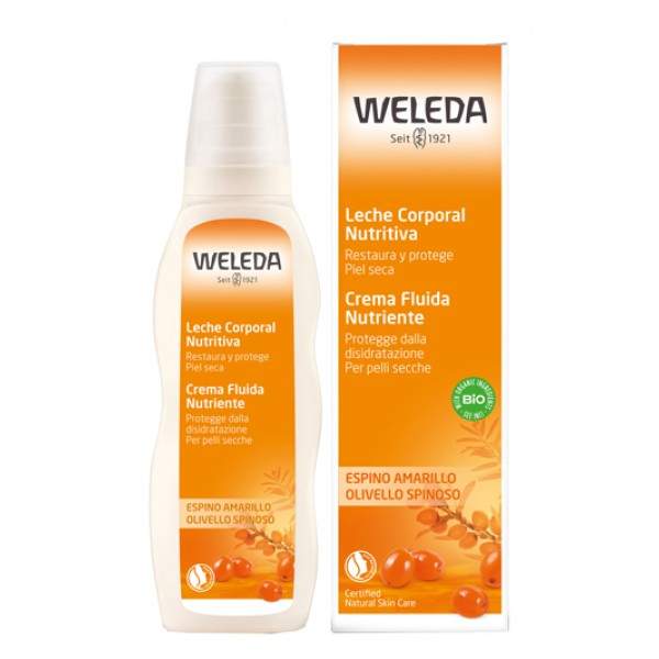 Weleda Crema Fluida Nutriente Olivello Spinoso 200 ml