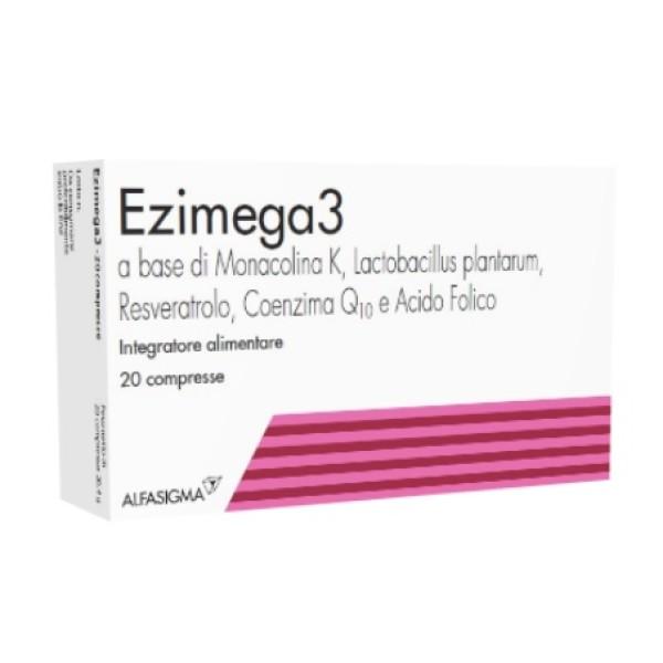 Ezimega3 Integratore per il Colesterolo 20 Compresse