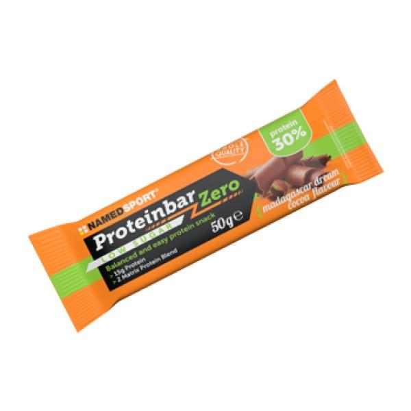 Named Sport Proteinbar Zero Cacao Mad 50 grammi - Barretta Proteica