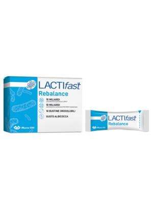 LactiFast Rebalance Viti Probiotici e Fermenti Lattici 10 Stick Pack