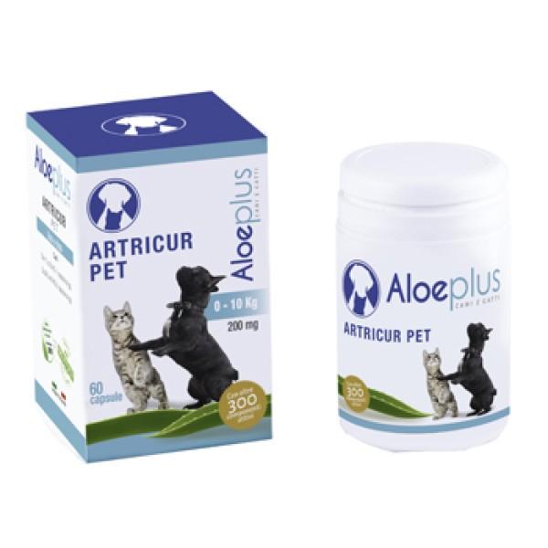 Artricur Pet Cani 0-10 Kg 60 Capsule - Integratore Veterinario