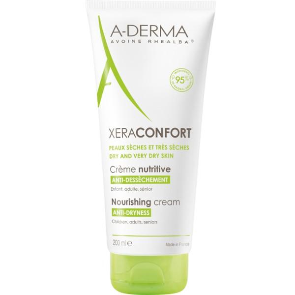 A-Derma XeraConfort Crema Nutritiva Pelle Secca e Molto Secca 200 ml