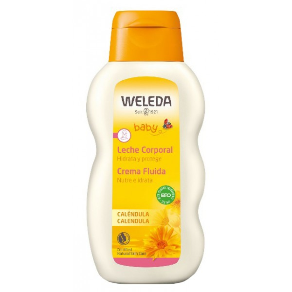 Weleda Calendula Crema Fluida Nutriente Idratante 200 ml