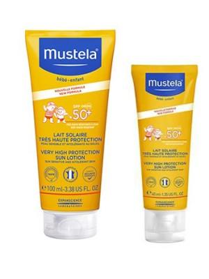 Mustela Latte Solare SPF 50+ 100 ml