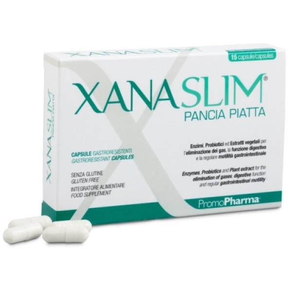Xanaslim Pancia Piatta 15 Capsule PromoPharma - Integratore Alimentare
