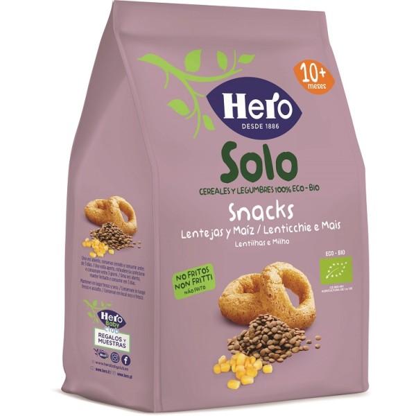 Hero Baby Snack Lenticchie Mais 50 grammi
