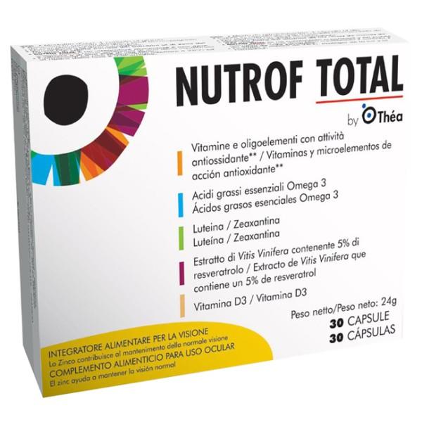 Nutrof Total 30 Capsule - Integratore Vista