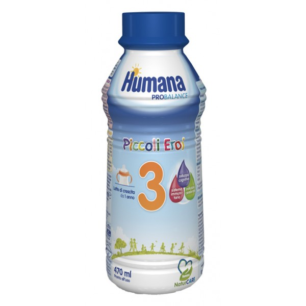 Humana 3 Latte Liquido 470 ml