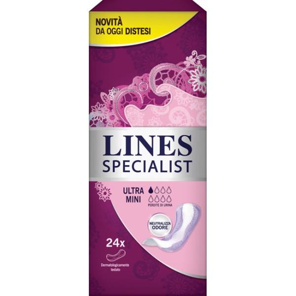 Lines Specialist Assorbenti Ultra Mini 24 pezzi