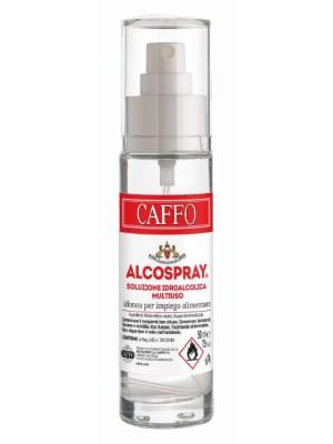 Alcolspray Soluzione Idroalcolica per sanificazione Mascherine Alcool 75% Multiuso Caffo 50ml