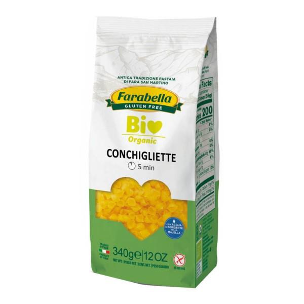 Farabella Bio Pasta Conchigliette Mais-Riso 340 grammi