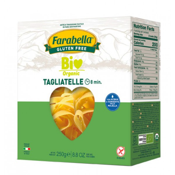 Farabella Bio Pasta Tagliatelle Mais-Riso 340 grammi