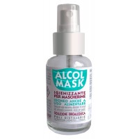 Alcol Mask Spray Igienizzante Multiuso con Alcool 75% 50ml