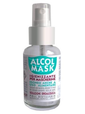Alcol Mask Spray Igienizzante Multiuso con Alcool 75% 50ml