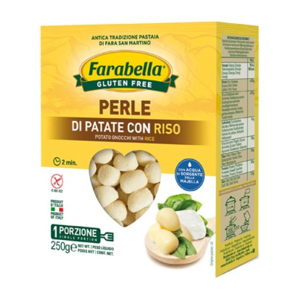 Farabella Senza Glutine Perle di Patate con Riso 250 grammi