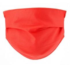 Mascherina Lavabile per adulti colore Corallo 2 pezzi