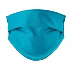 Mascherina Lavabile per adulti colore Ottanio 2 pezzi