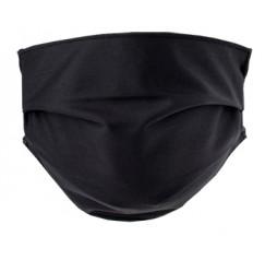 Mascherina Lavabile per adulti colore Nero 2 pezzi