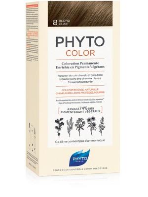 Phytocolor 8 Biondo Chiaro - Tintura Permanente per Capelli