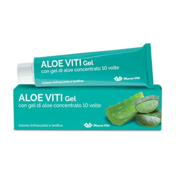 Aloe Viti Gel Rinfrescante Lenitivo Pelle Arrossata 100 ml