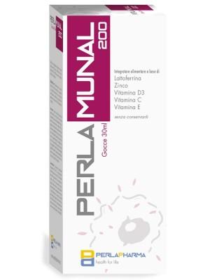Perlamunal 200 Gocce 30 ml - Integratore Difese Immunitarie