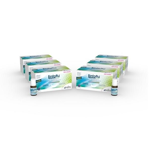 LinfoFlu Multipack 6 x 15 Flaconcini - Integratore Difese Immunitarie