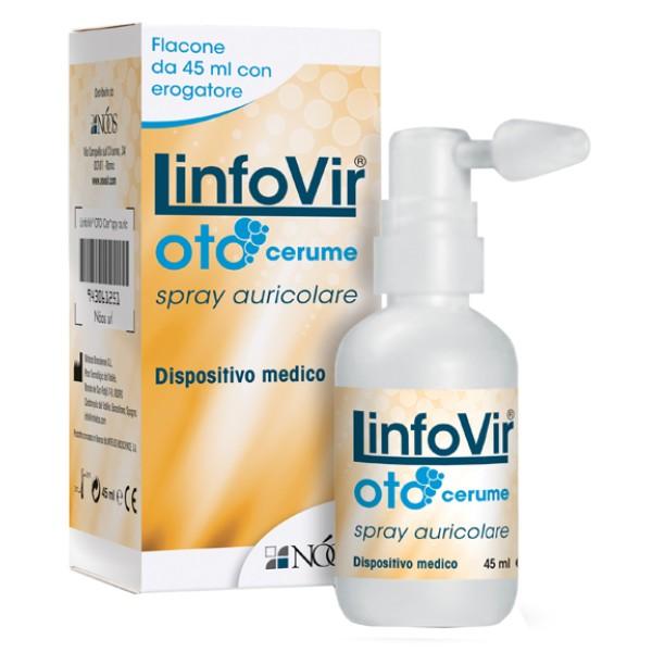 LinfoVir Oto Cerume Spray Auricolare 45 ml