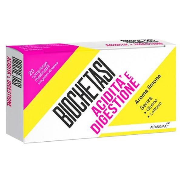 Biochetasi Digestione e Acidità 20 compresse