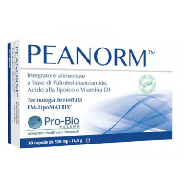 PEANORM 30 Cps 550mg