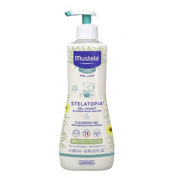 Mustela Stelatopia Gel Detergente 500ml