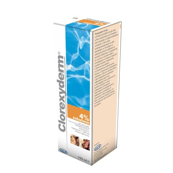 Clorexyderm Soluzione 4% Disinfettante Cani e Gatti 100 ml