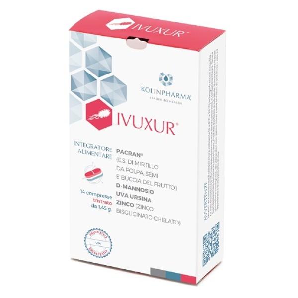 Ivuxur 14 Compresse - Integratore Benessere Vie Urinarie