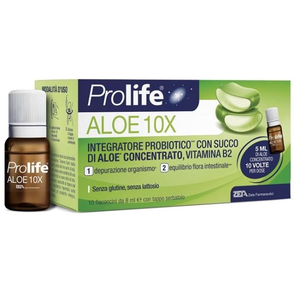 ProLife Aloe 10X 10 Flaconcini - Integratore Fermenti Lattici Vivi