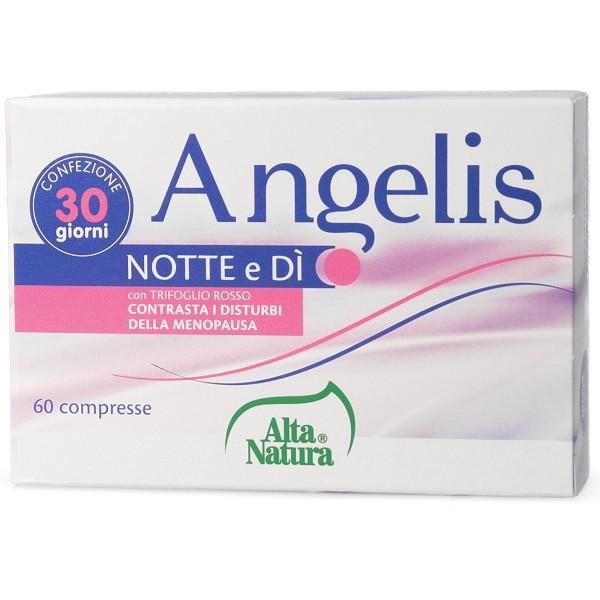 Angelis Notte e Di' 60 Compresse - Integratore Menopausa