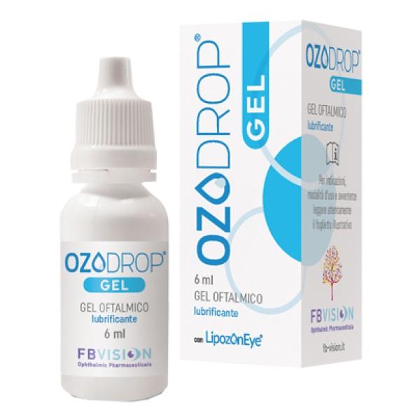 Ozodrop Gel Oftalmico Protettivo e Lubrificante 6ml